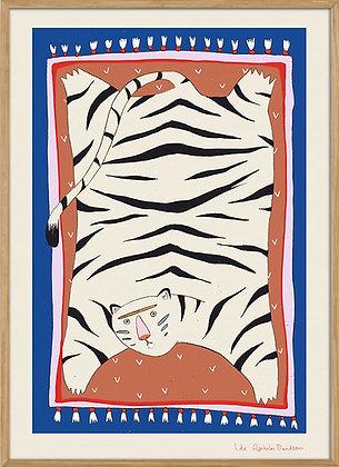 Tiger wall carpet, A3