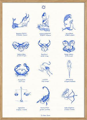 Zodiac signs, A3