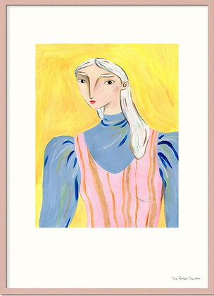 Yellow Portrait, A3