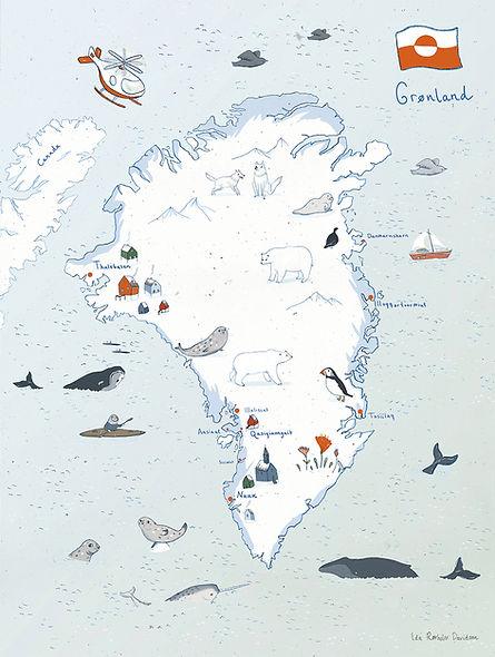 grønlandkort