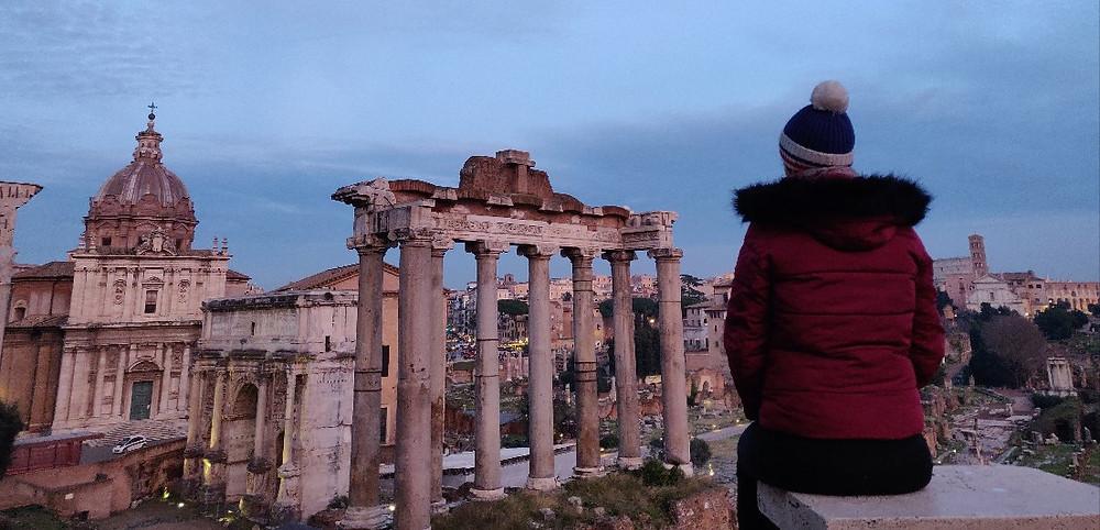 Rome le tour de moi-même tous les chemins mènent à rome mathilde boileau