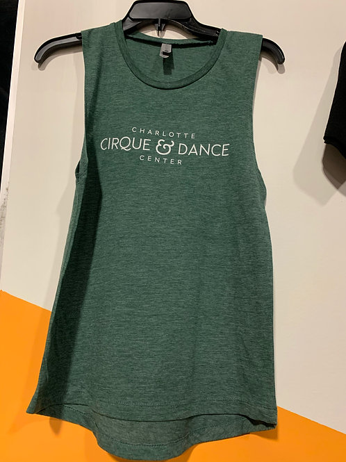 CC&DC Logo Tank -Royal Pine (Green)