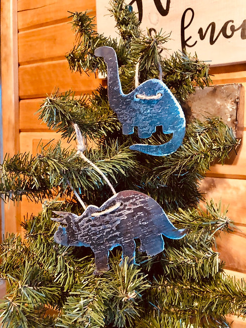 Dino Set of Ornaments