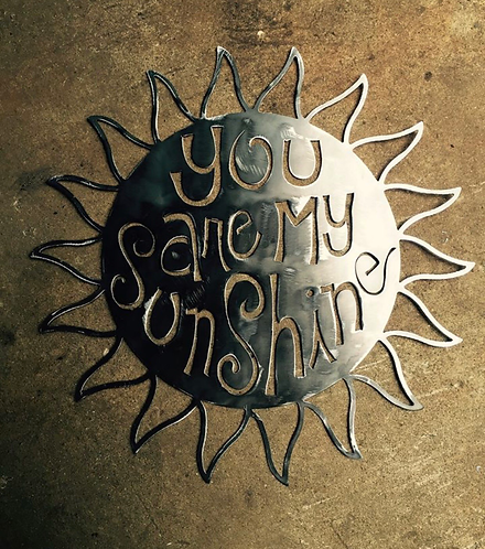 "18"" You Are My Sunshine Wall Art"