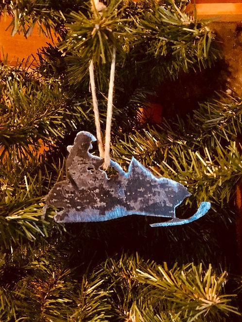 Snowmobiler Ornament