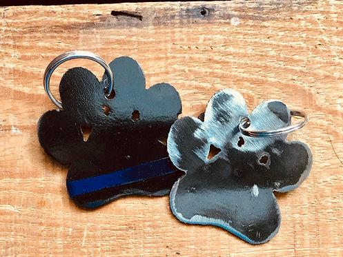 Dog Paw Keychains