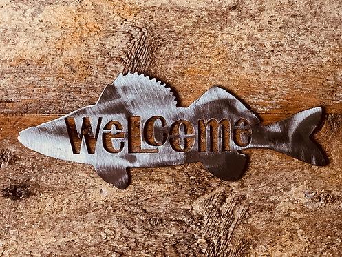 """12"""" Welcome Walleye"""