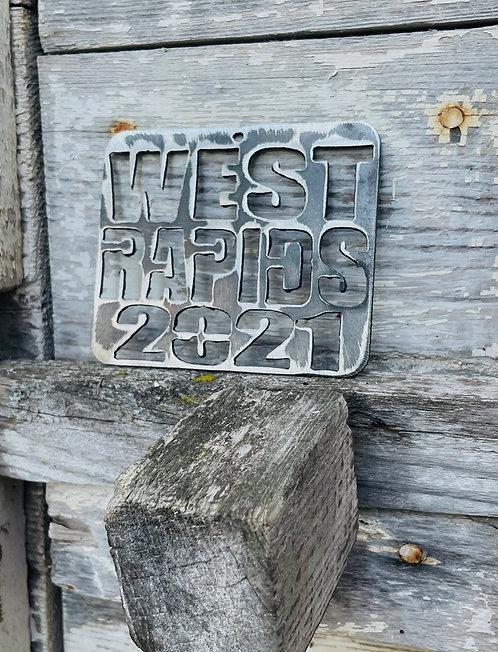 West Rapids 2021 Ornament