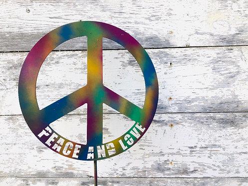 Peace & Love Sign