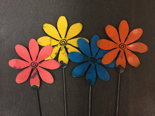 "Single Daisy Flowers - (6"" & 8"")"
