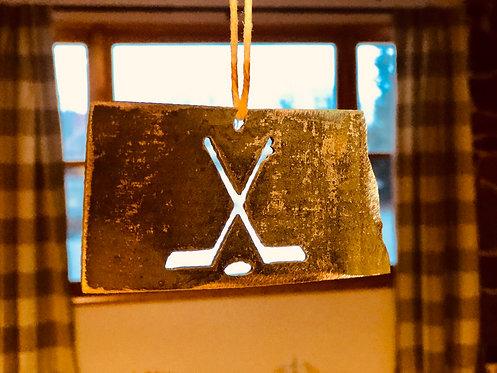 ND Hockey Ornament