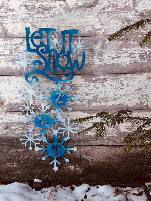 Let it Snow Meter