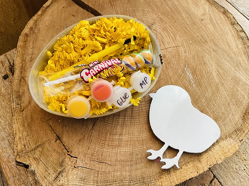 Spring DIY Chick-Magnet