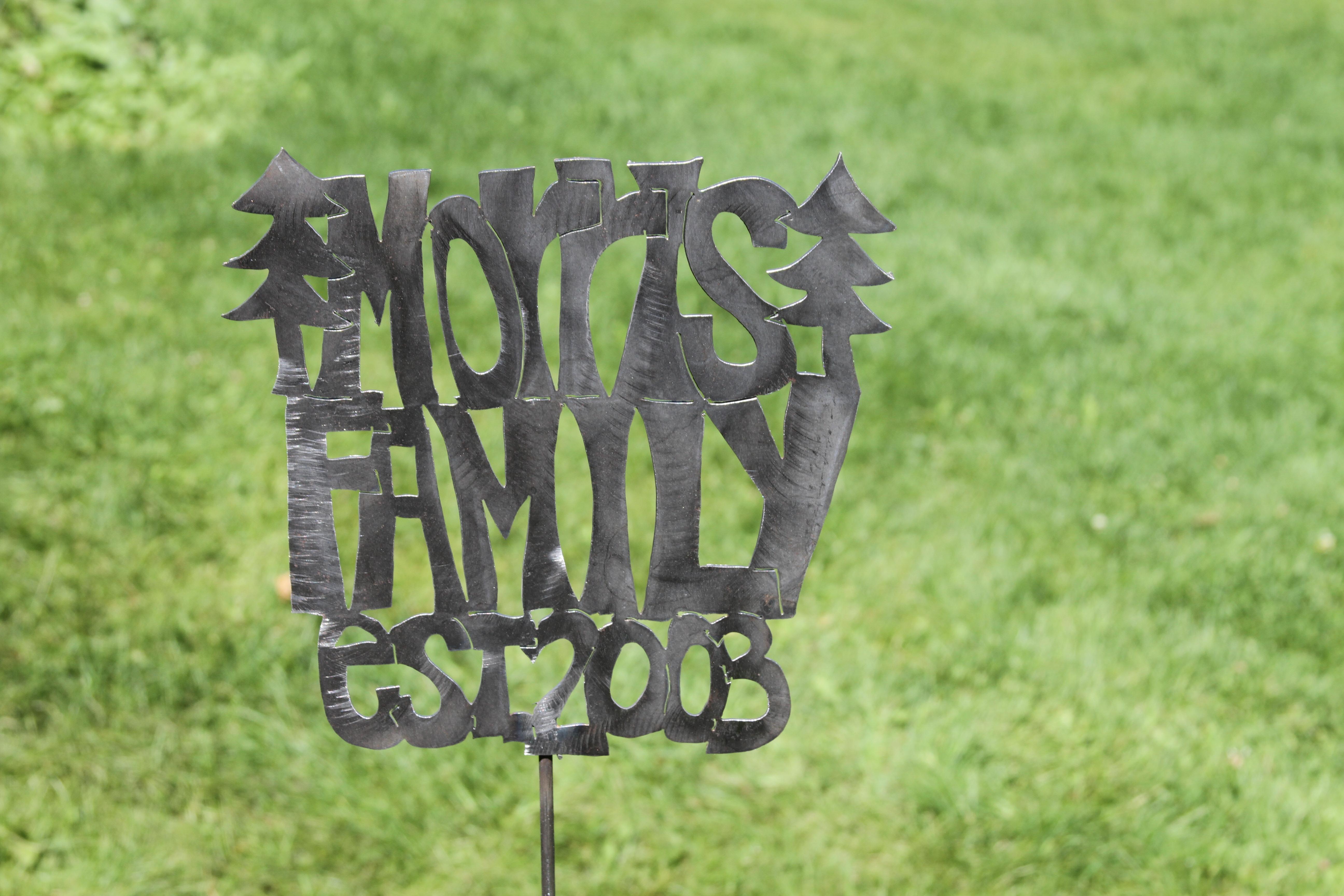 Last Name w/ Pine Trees