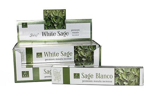Incenso Salvia Branca 15gr (MASSALA)