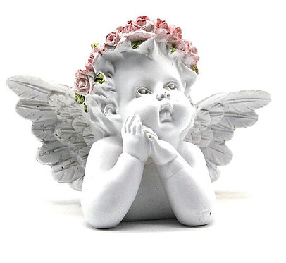 Busto Anjo 17x7x13cm