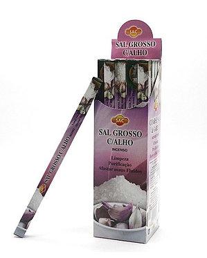 Incenso Sálvia Branca com Sal Grosso (SAC)