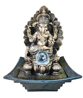 Fonte Deus Hindu Ganesh c/ Esfera