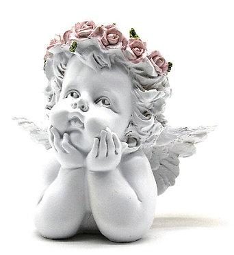 Busto Anjo 14x7x13cm