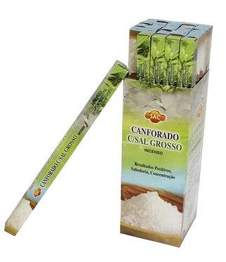 Incenso Cânfora c/Sal Grosso (SAC)