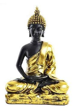 Buda hindu Dourado 14x25x38cm