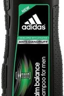ADIDAS 愛廸達是(歐盟)ANTI-DANDRUFF CALM BALANCE SHAMPOO FOR MEN 男士去頭皮均衡洗髮露 400ml