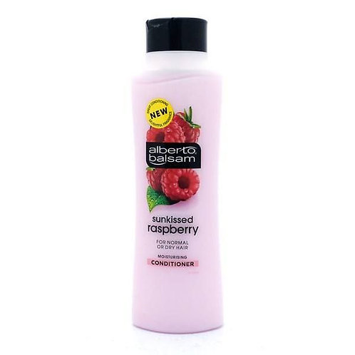 ALBERTO BALSAM (英國)  RASPBERRY 紅莓 適合乾性髮質 CONDITIONER 護髮素 350ml