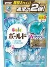 寶潔白葉花香洗衣凝膠球增量補充裝 36粒 (粉藍)