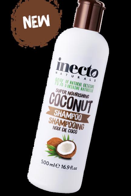 INECTO(英國)  COCONUT SHAMPOO 椰子洗髮露 500ml