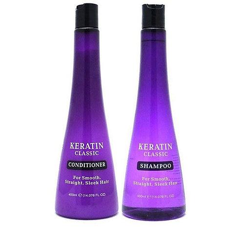 KERATINCLASSIC 400ml 洗髮露/護髮素