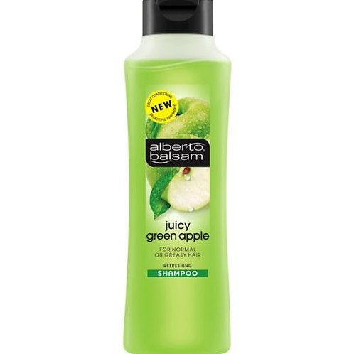 ALBERTO BALSAM (英國)   GREEN APPLE青蘋果 適合油性髮質 SHAMPOO 洗髮露 350ml