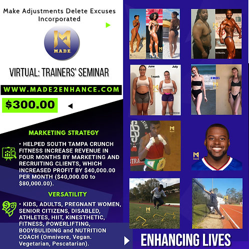 Virtual: Trainers' Seminar