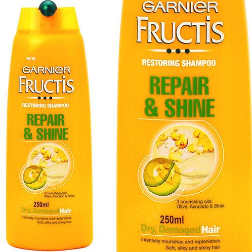GARNIER FRUCTIS 卡尼爾 (意大利) REPAIR & SHINE 修護亮麗 SHAMPOO 洗髮露250ml