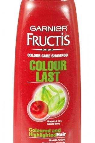 GARNIER FRUCTIS SHAPOO  卡尼爾 ( 意大利 ) COLOUR LAST 色彩持久洗髮露