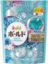 寶潔白葉花香洗衣凝膠球補充裝 18粒 (粉藍)