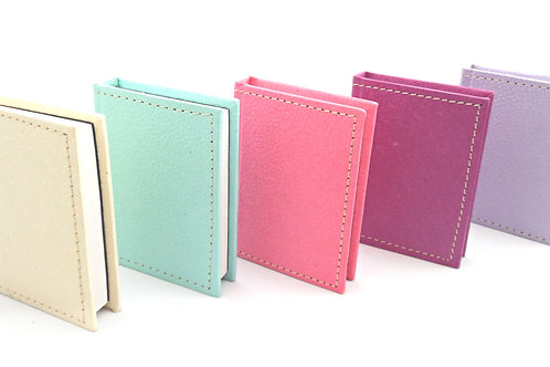 Leather Look Mini Notepad