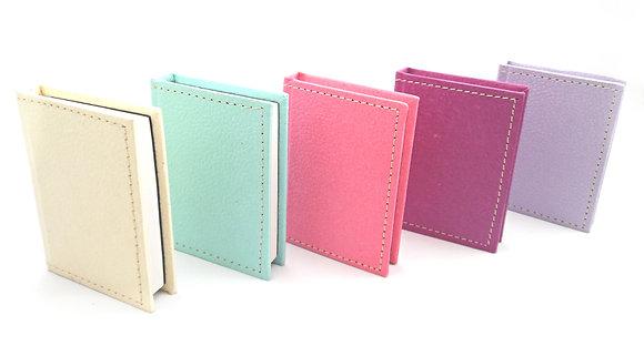 Leather Look Mini Notepad