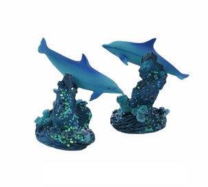 Resin Dolphin Ornament