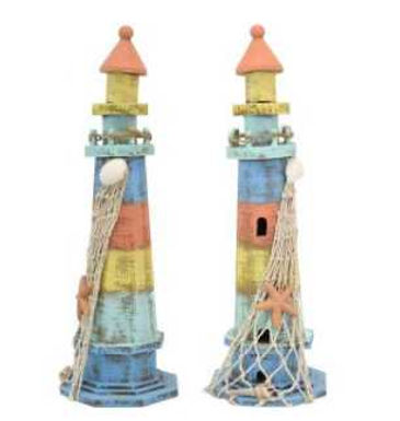 Colourful Wooden Lighthouse