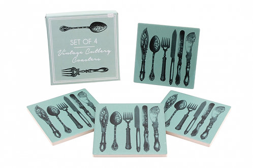 Box of 4 Cutlery Coaster