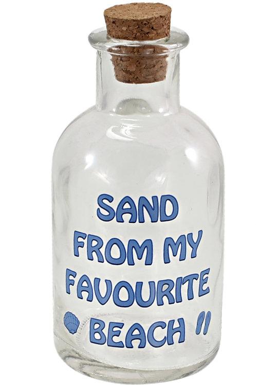 Glass Bottle for Sand
