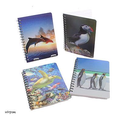 Holgram Sealife Notebook