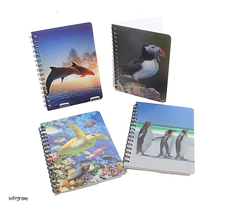 Holgram Sealife Notebook