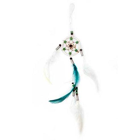 Green White Dreamcatcher