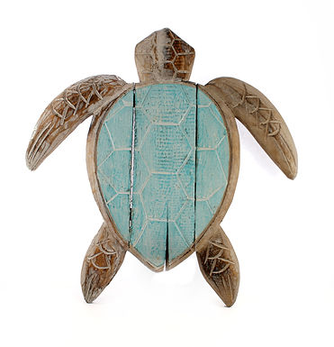Wooden Turtle Plaque