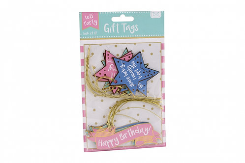 Let's Party Gift Tags
