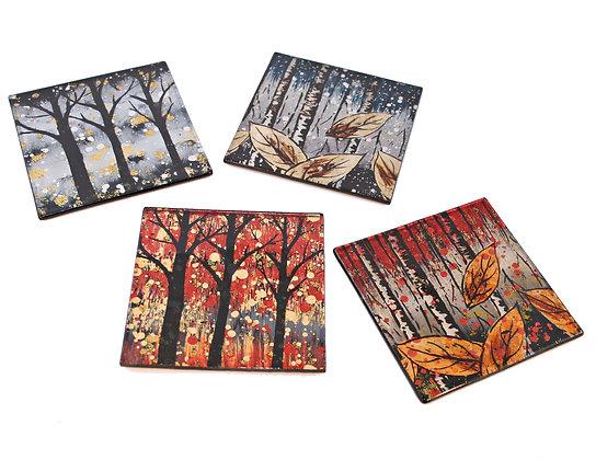 Glass Trees Coaster
