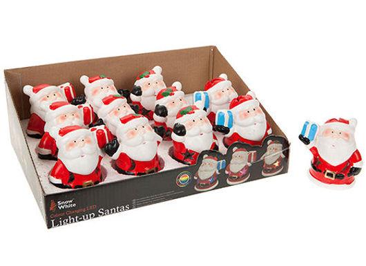 Colour Changing Santa