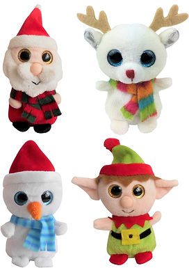 Christmas Plush Big Eyes