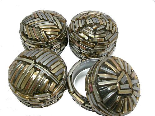 Mini Round Metal Box
